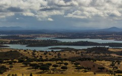Vista para o Lago Alqueva